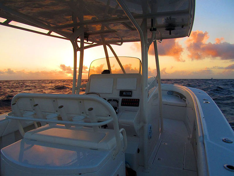 Jupiter Boats Sunrise