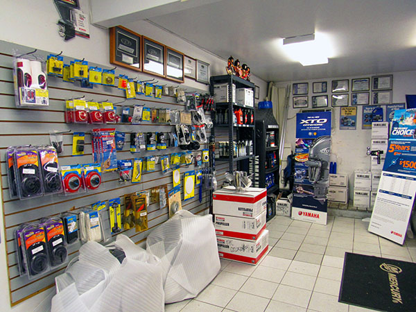 KMC Marine Parts Department